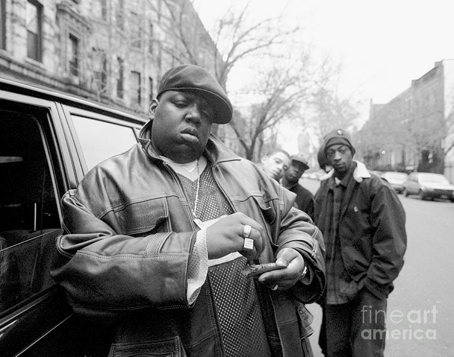 Rapper Notorious B.i.g., Aka Biggie Photograph by New York Daily News Archive