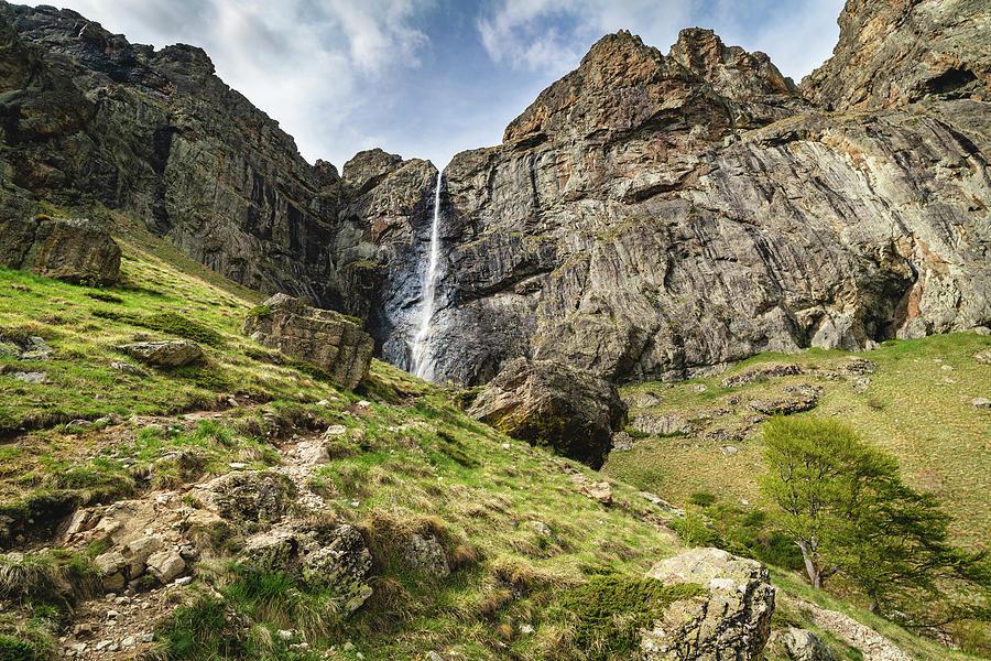 Raysko Praskalo Waterfall, Balkan Mountain by Milan Ljubisavljevic