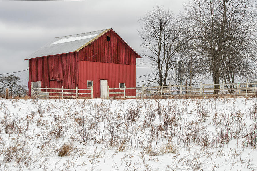 Red Barn by Rod Best