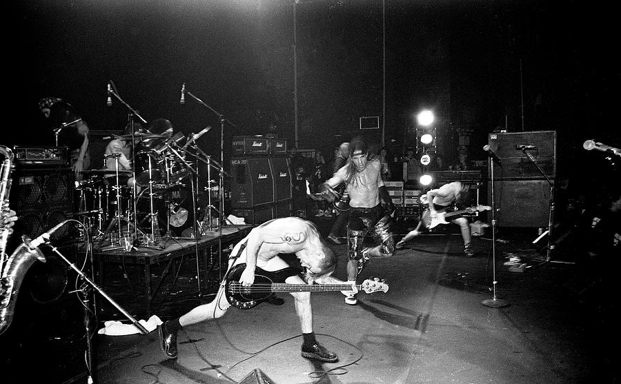 Red Hot Chili Peppers London Astoria Photograph by Martyn Goodacre