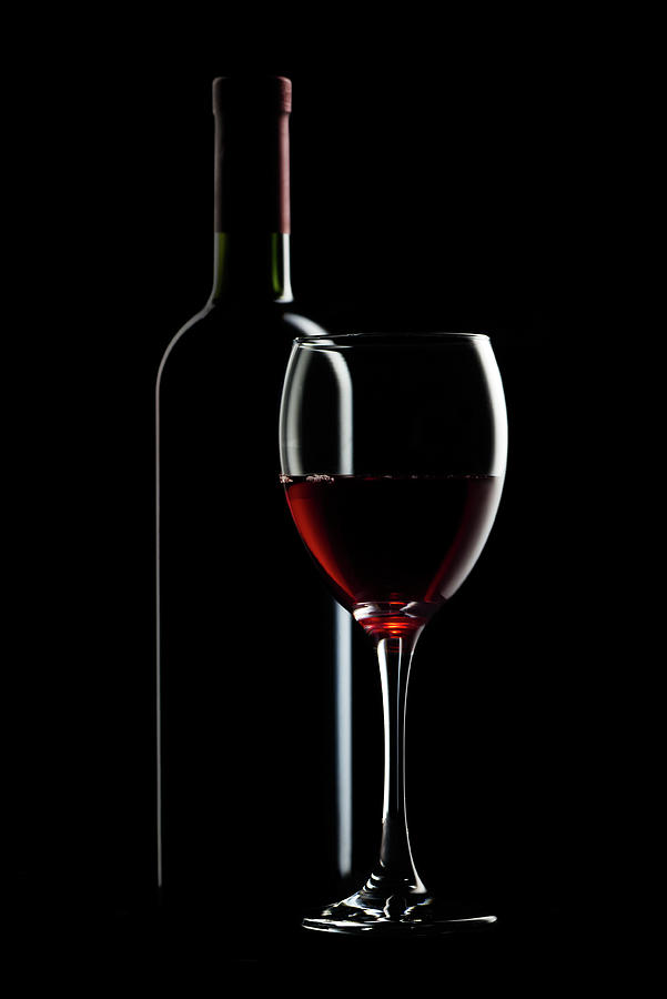 Red Wine Photograph by Julichka
