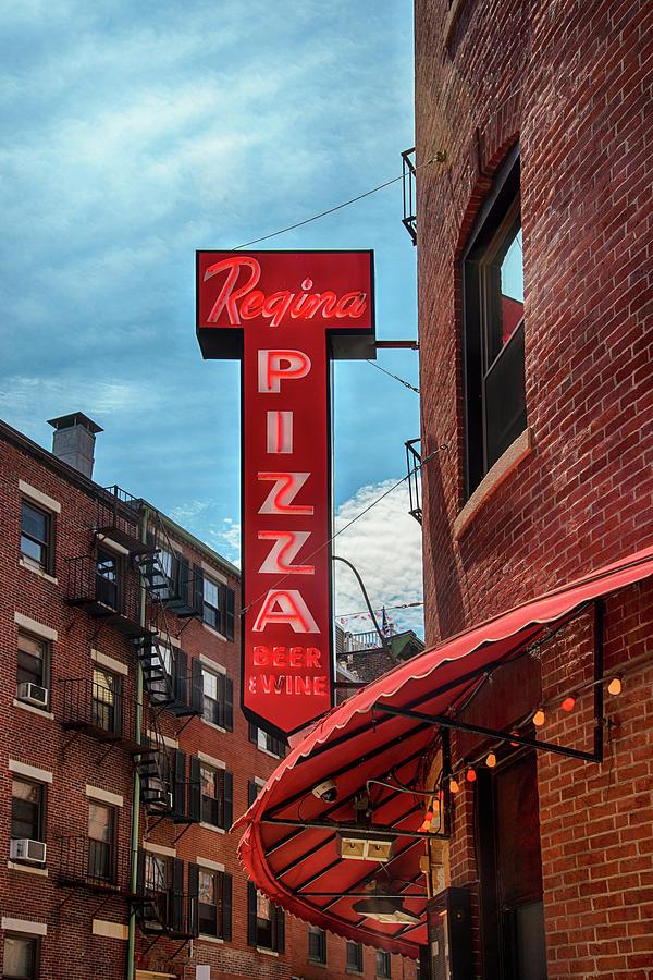 Regina Pizza Boston North End by Joann Vitali