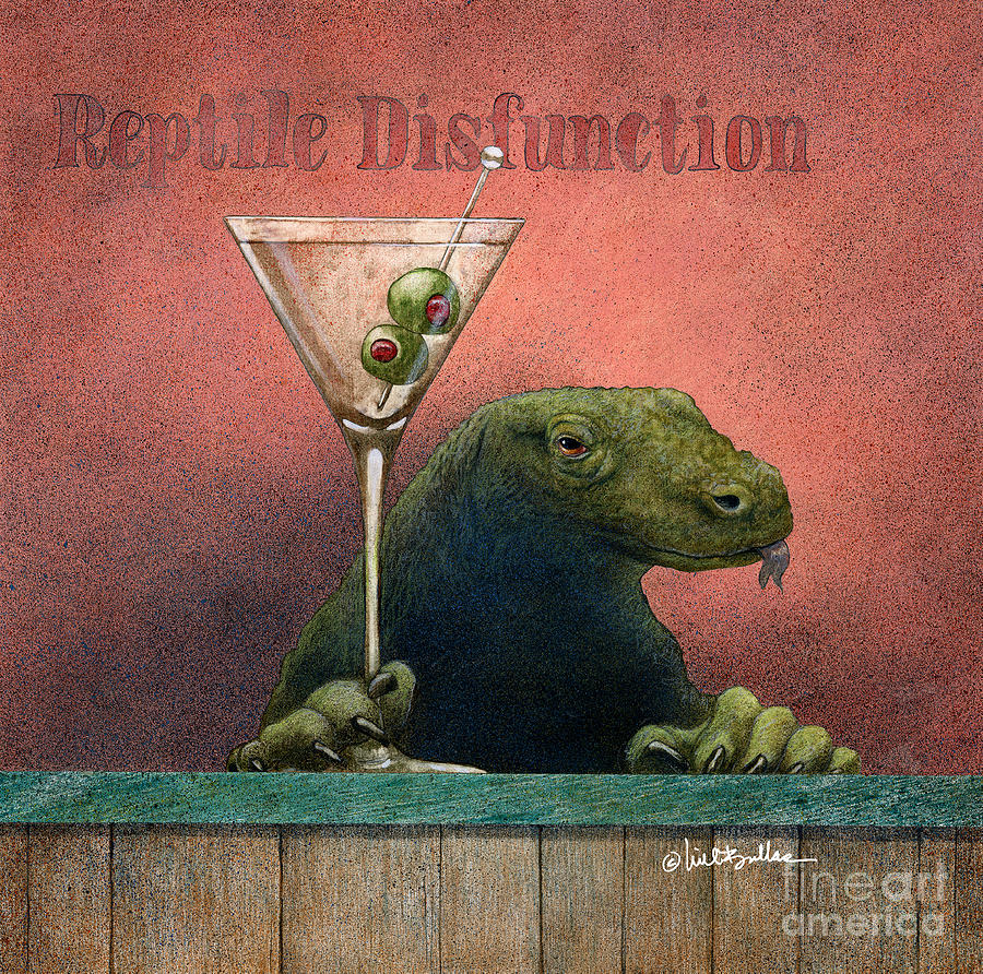 reptile disfunction... by Will Bullas