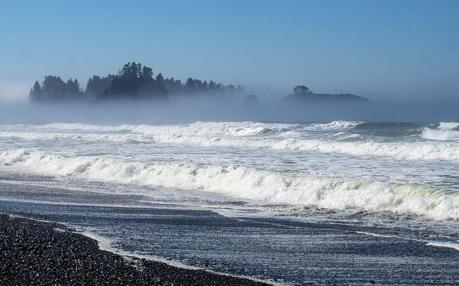 Rialto Beach, Pacific Ocean by Aurica Voss