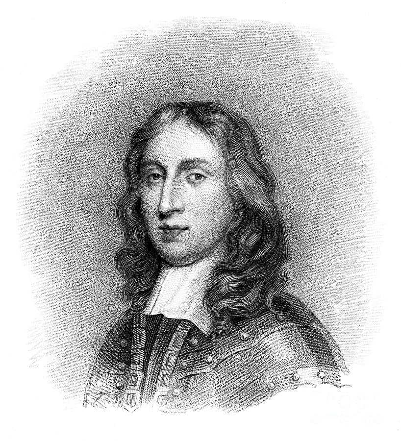 Richard Cromwell, Lord Protector Drawing by Print Collector