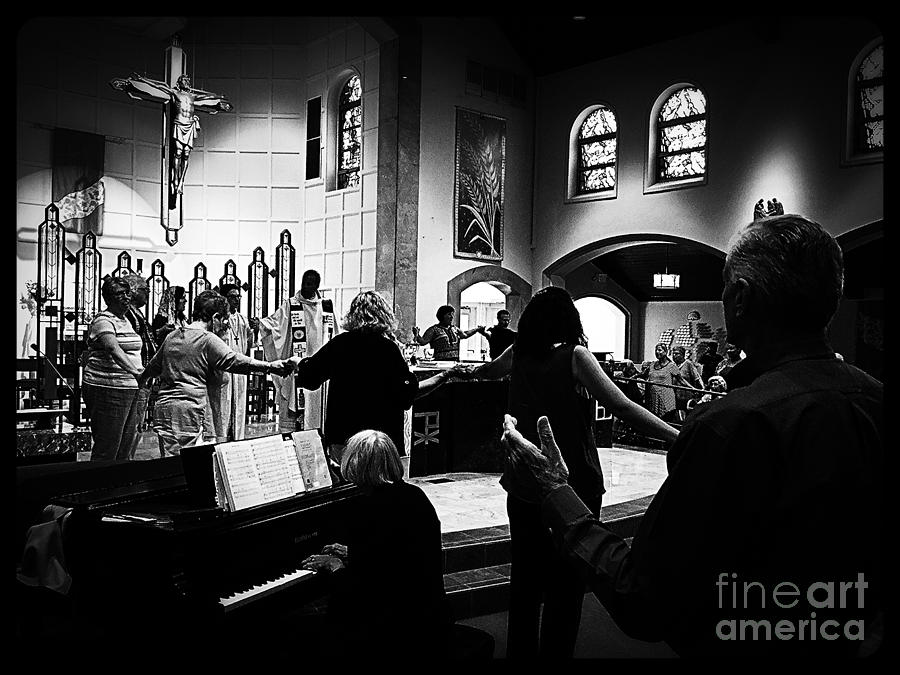 Jesus Photograph - Ring of Faith by Frank J Casella