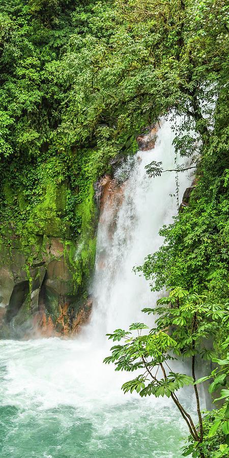 Rio Celeste Waterfall by Stefan Mazzola