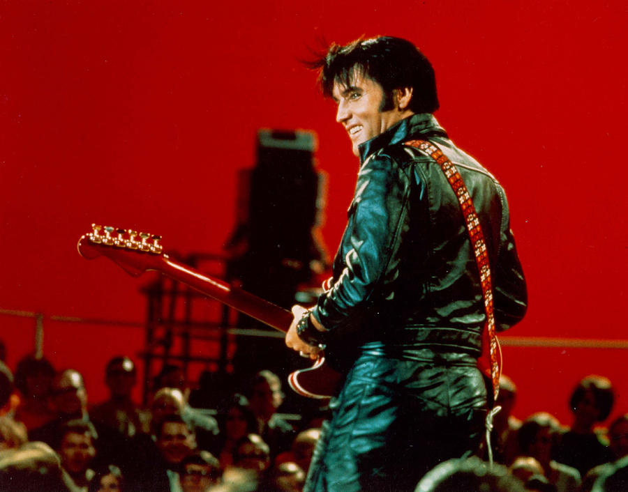 Rock And Roll Musician Elvis Presley 1 Photograph by Michael Ochs Archives