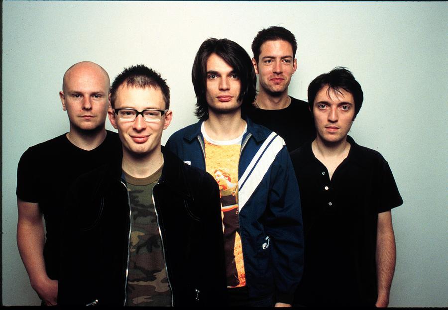 Rock Band Radiohead Photograph by Jim Steinfeldt