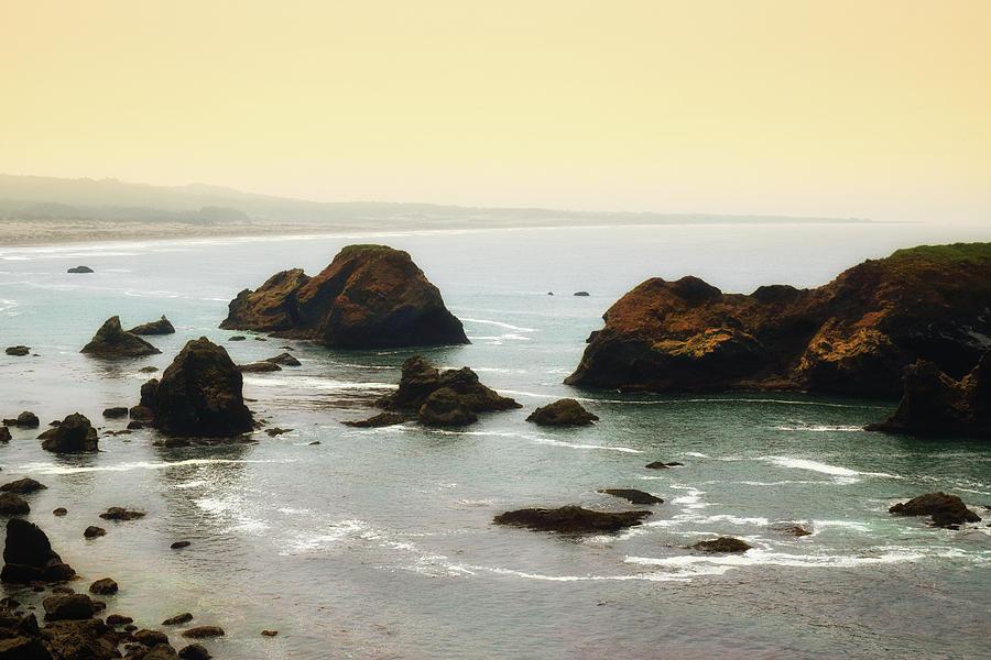 Rocky Coast by Frank Wilson