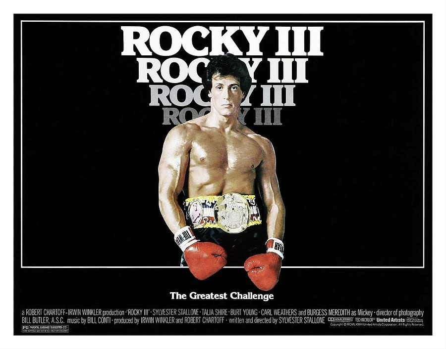 Rocky IIi -1982-. Photograph by Album