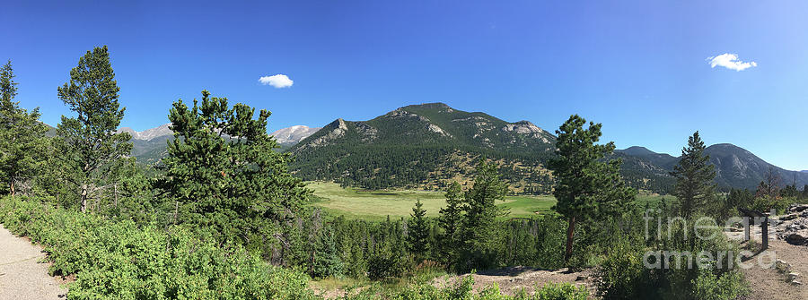 National Parks Photograph - Rocky Mountains Co by Leslie M Browning