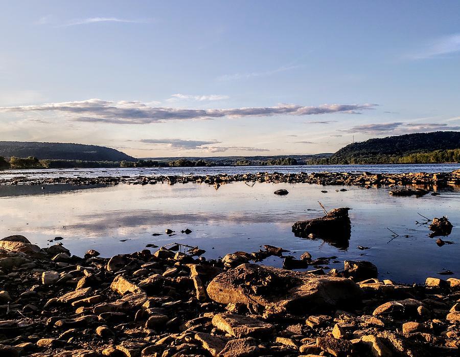 Rocky Shoreline  by Paul Kercher