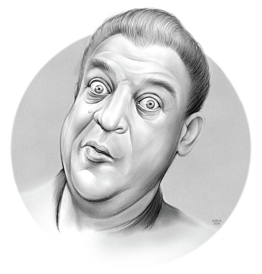 Rodney Dangerfield Drawing