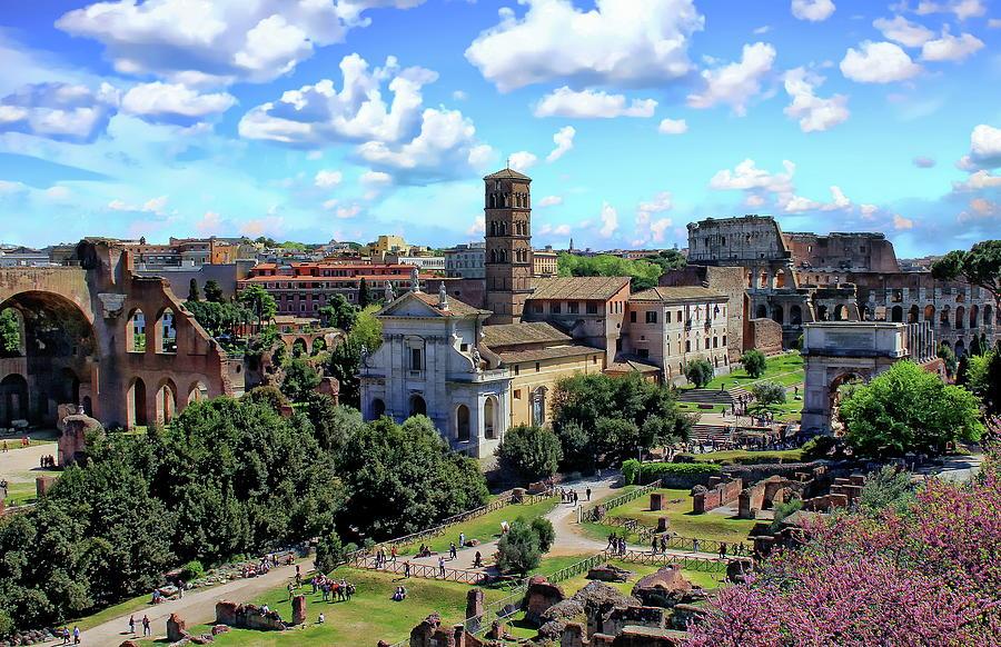 Roman Forum by Anthony Dezenzio