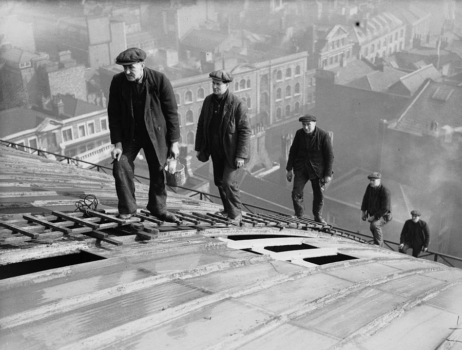 Roofers Photograph by Harry Todd