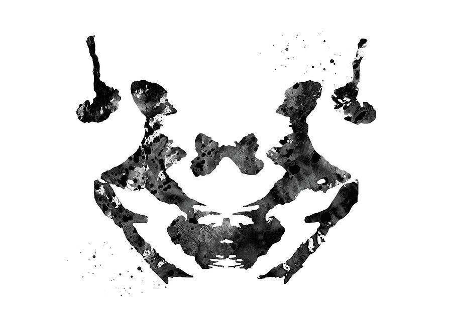 Rorschach Inkblot Art
