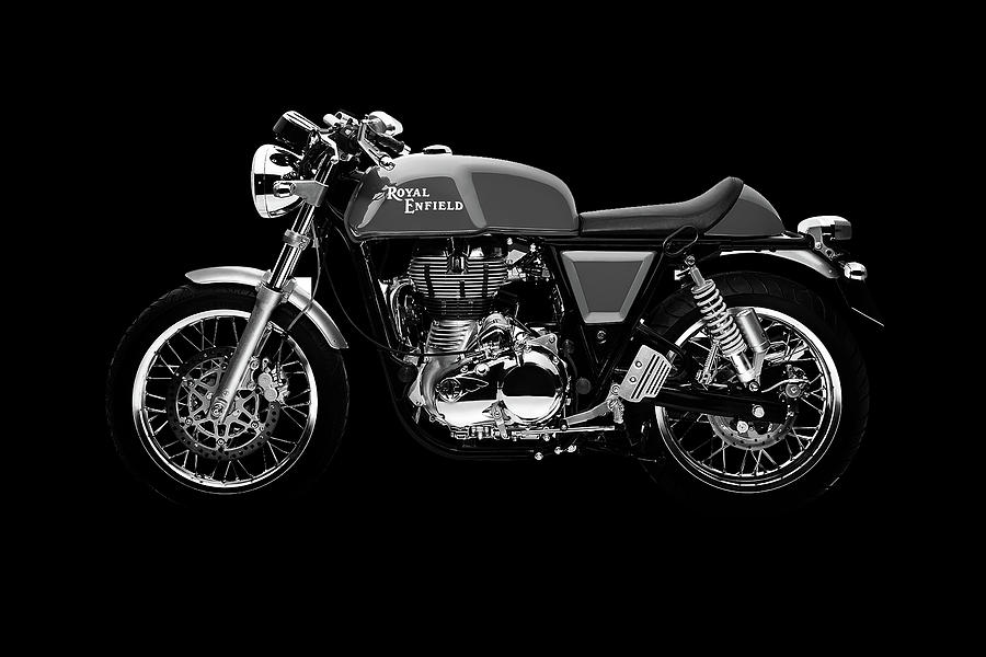 Royal Enfield Continental Gt Mixed Media By Smart Aviation