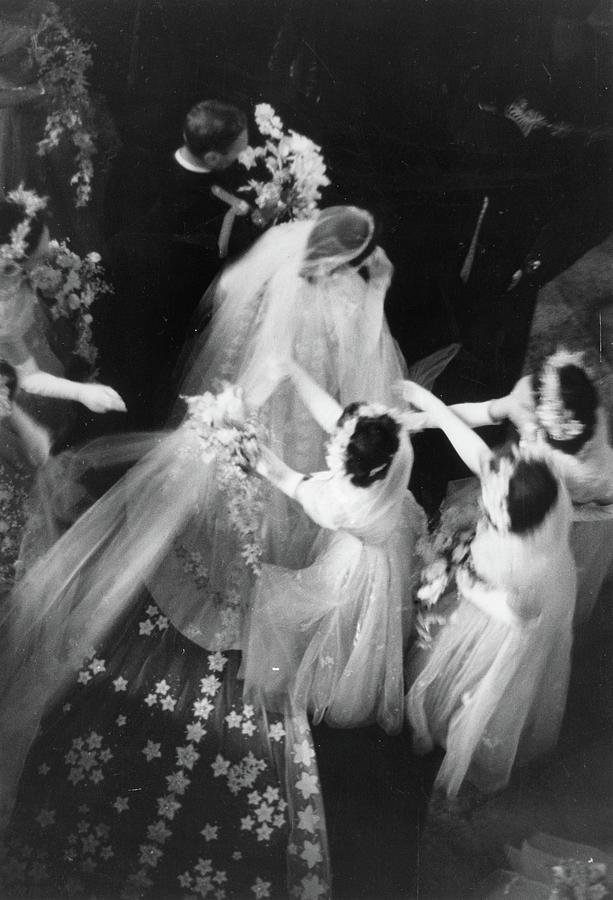 Royal Wedding Photograph by Bert Hardy