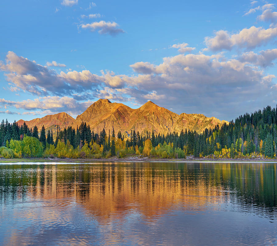 Mp Photograph - Ruby Range, Lost Lake Slough, Colorado by Tim Fitzharris