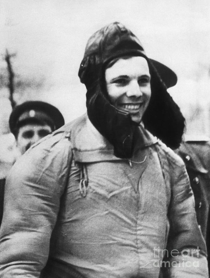 Russian Cosmonaut Yuri Gagarin Photograph by Bettmann