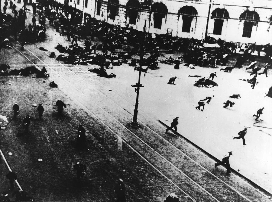 Russian Revolution Photograph by Keystone