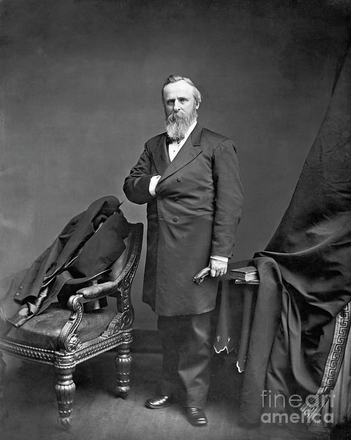 Rutherford B. Hayes Photograph by Bettmann