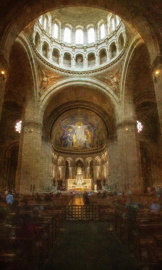 Sacre Coeur Basilica by John Rivera