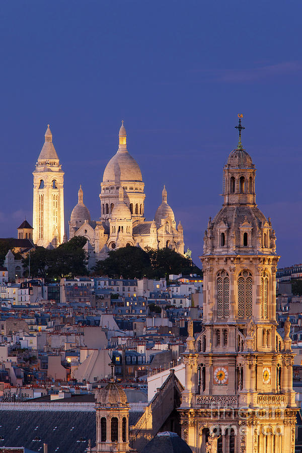 Sacre Coeur Twilight by Brian Jannsen