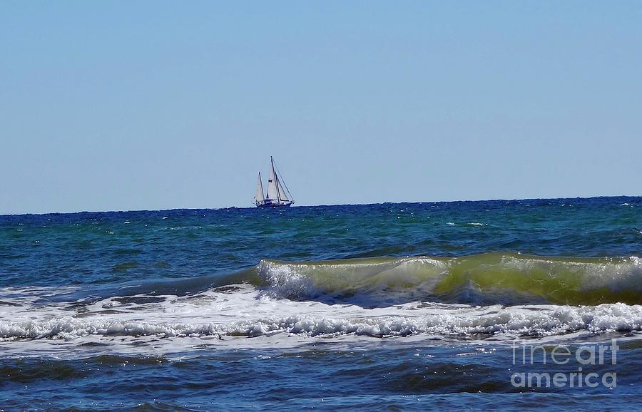 Sailboat Photograph - Sailing by Megan Cohen