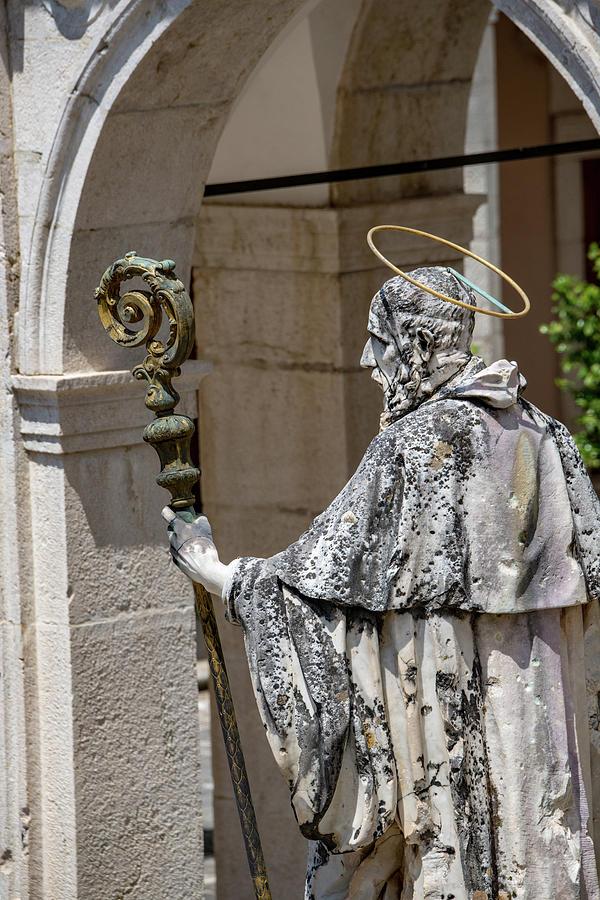 Abbey Of Montecassino Photograph - Saint Benedict by Joseph Yarbrough
