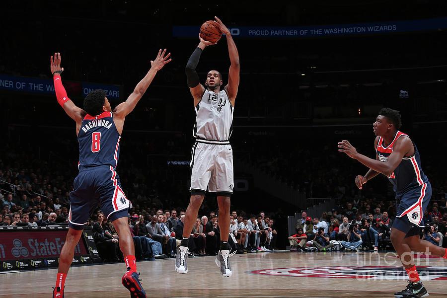 San Antonio Spurs V Washington Wizards Photograph by Ned Dishman