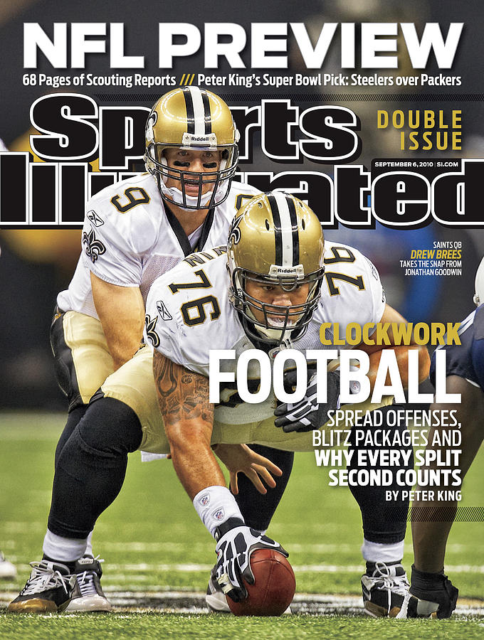 San Diego Chargers V New Orleans Saints Sports Illustrated Cover Photograph by Sports Illustrated