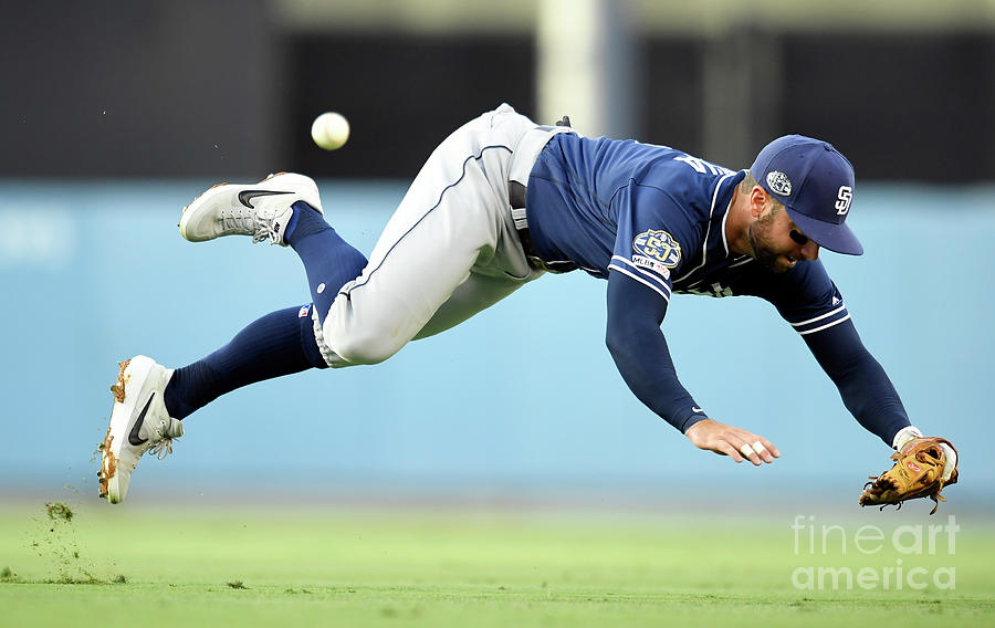 San Diego Padres V Los Angeles Dodgers Photograph by John Mccoy