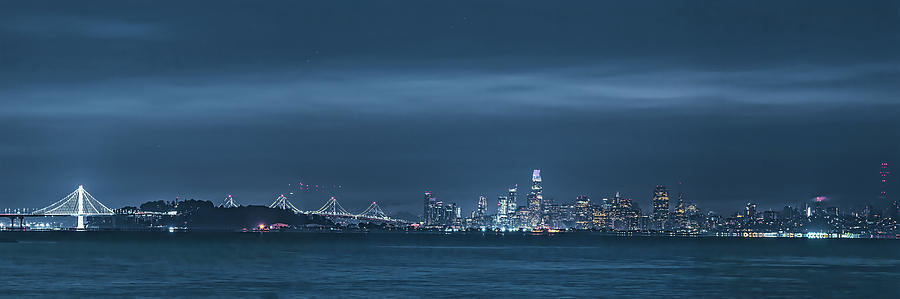 San Francisco Skyline by Mike Gifford