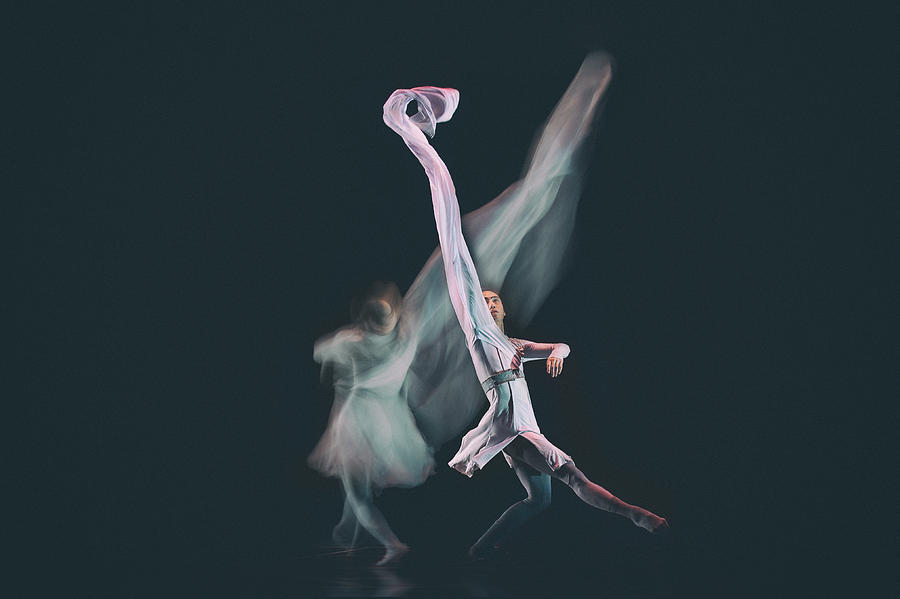 Dance Photograph - Sanctuary-3 by Rob Li