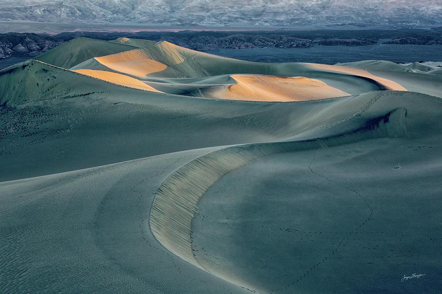 Sand Dunes Sunrise  by Jurgen Lorenzen