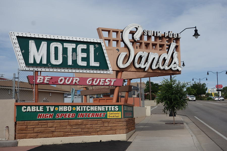 Sands Motel by Matthew Bamberg