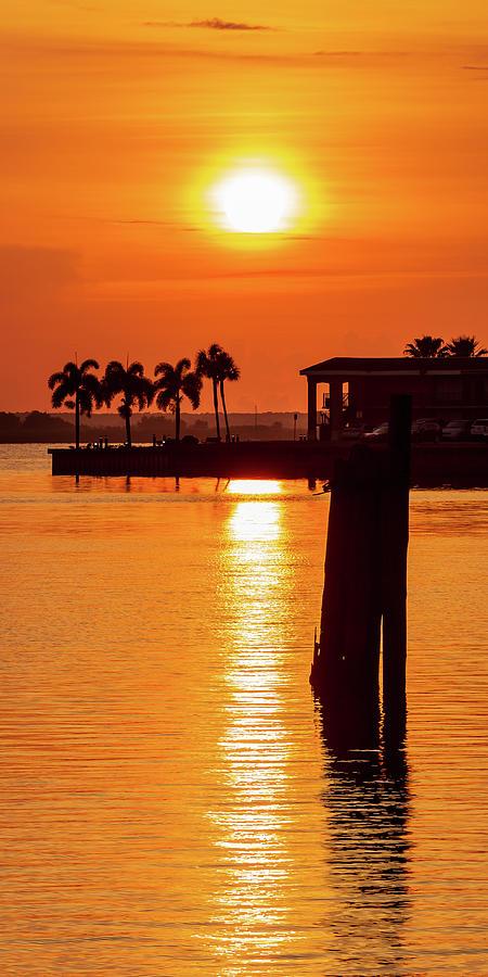 Sanford River Walk Sunrise by Stefan Mazzola