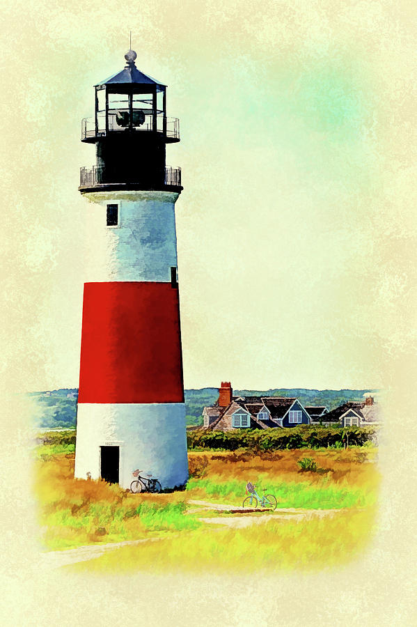 Sankaty Lighthouse-Nantucket by Barry Wills