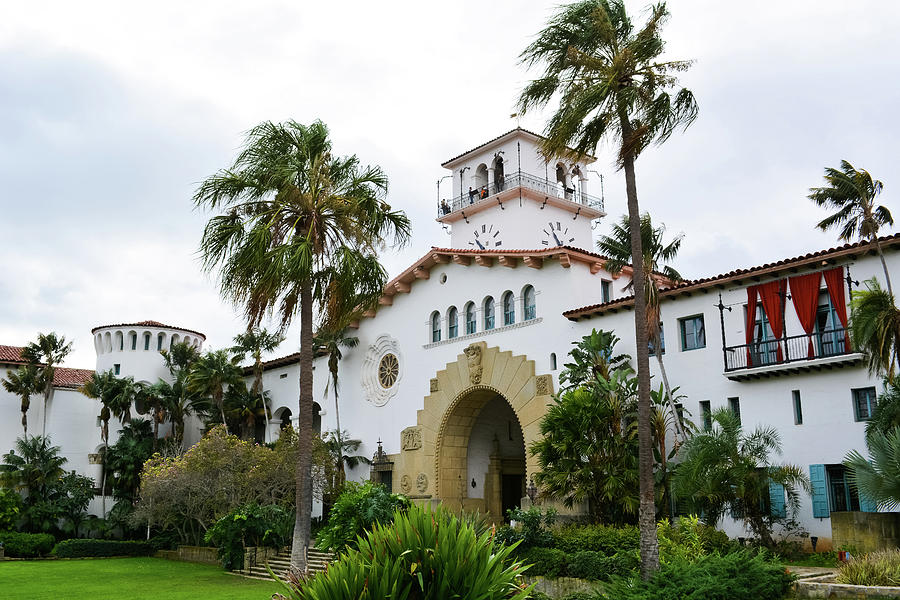 Santa Barbara County Courthouse by Kyle Hanson