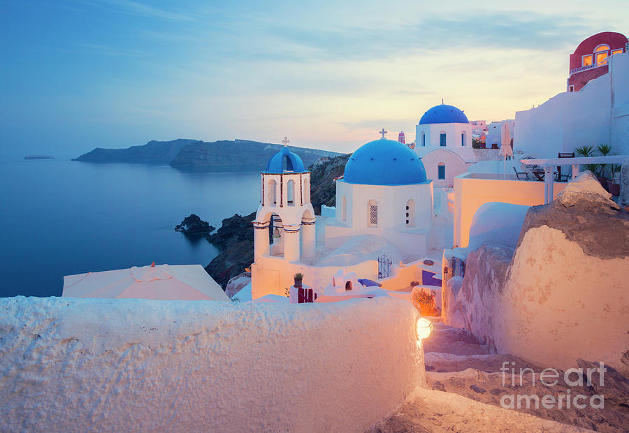 Santorini, Greece Photograph by Spooh