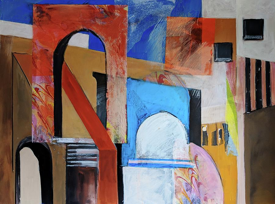 Santorini by Jillian Goldberg