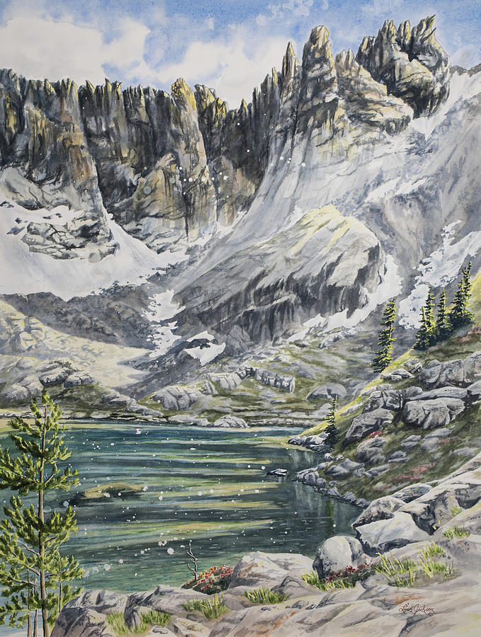 Sawtooth Alpine Lake by Link Jackson