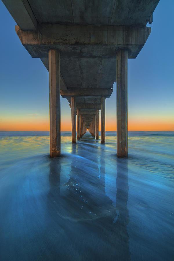 Scripps Photograph - Scripps Pier - 3 by Jonathan Hansen