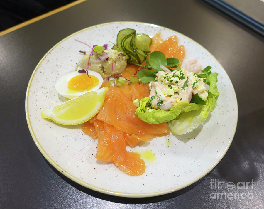 Seafood Photograph - Seafood Platter by Louise Heusinkveld