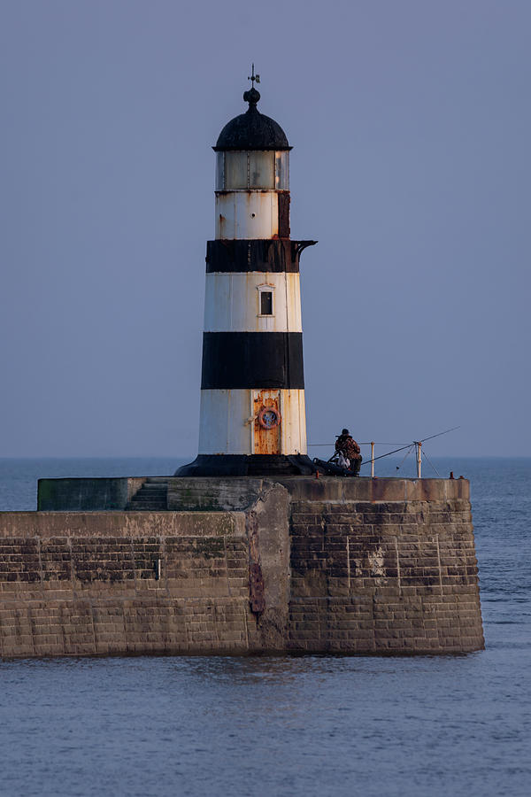 Seaham Photograph - Seaham Lighthouse by Steev Stamford