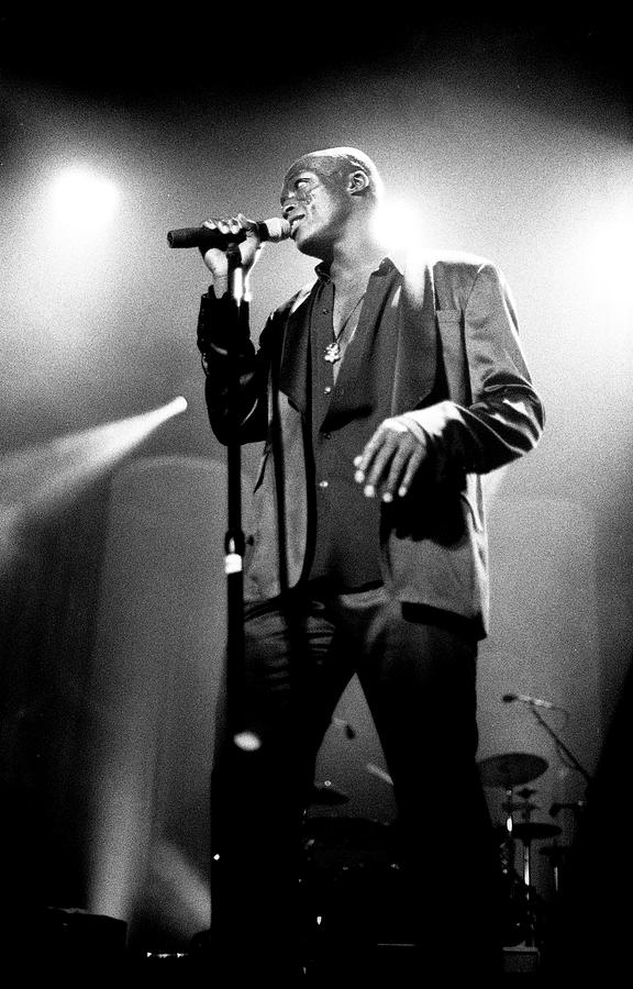 Seal Hollywood Bowl 1995 Photograph by Martyn Goodacre