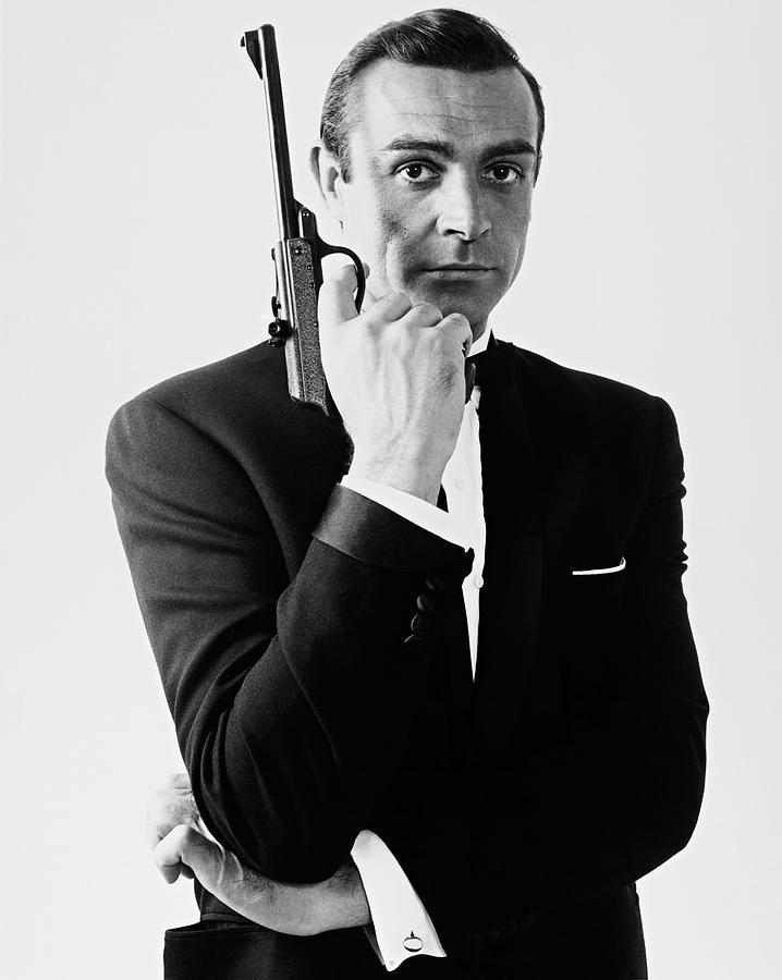 Sean Connery In 007 James Bond Dr No 1962 Original Title Dr No Photograph By Album