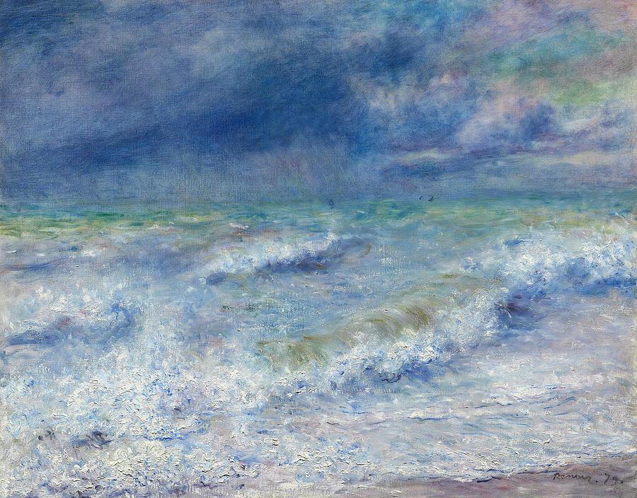 Seascape by Auguste Renoir